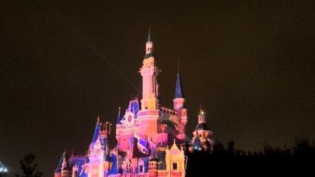 上海迪士尼烟花表演