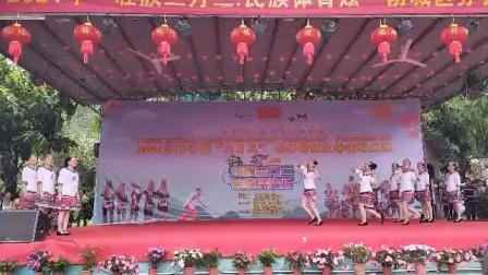 2021年广西壮乡防城区那良镇三月三民歌节那良艳艺舞蹈队表演《千里瑶寨来等你》