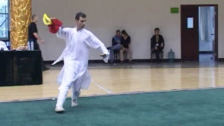 第二届世界传统武术节套路精选 032 男子八卦刀