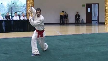 第二届世界传统武术节套路精选 033 男子双手剑