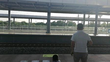 CRH2A-临客C5175次南昌西-南丰抚州1站台进站和谐号南局昌段