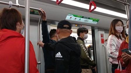 上海地铁16号线抹茶二世罗山路-华夏中路(终点站龙阳路)