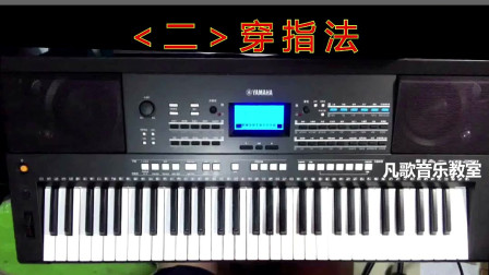 """钢琴、电子琴""""穿指法""""精讲"""