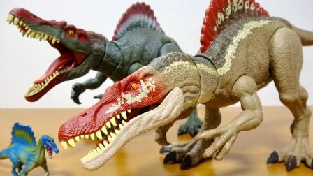 恐龙玩具故事:哇塞!侏罗纪公园里出现了哪些不一样的恐龙呢?