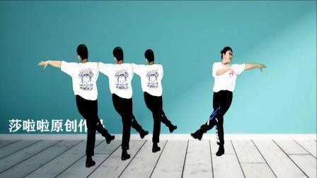 莎啦啦原创舞步健身操第13套 第12节 正反面演示