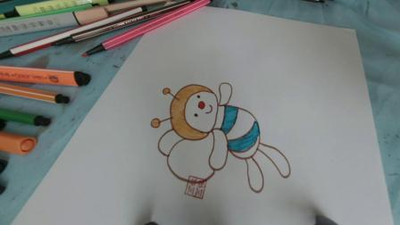 快乐的小蜜蜂