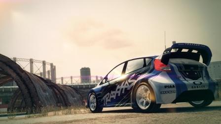 当重新去玩10年前的硬核赛车游戏《尘埃3》会发生什么?