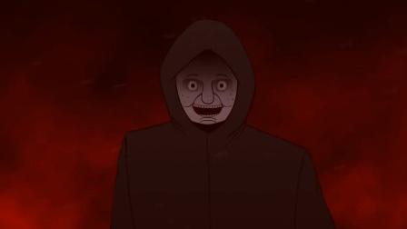 恐怖动画:雨夜,中年男人跟踪我到家门口