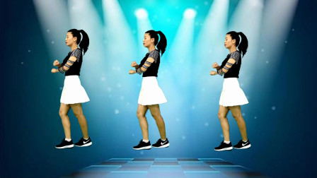 催泪情歌广场舞《情难断》,背面演示简单一看就会的舞蹈