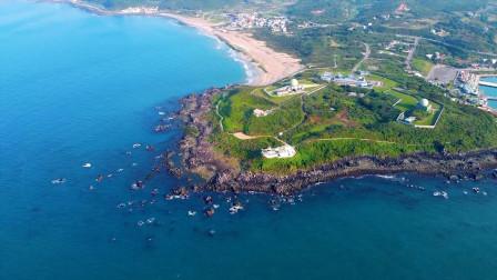 无人机航拍台湾岛30天,你绝对没见过这么美的景色真是美的冒泡