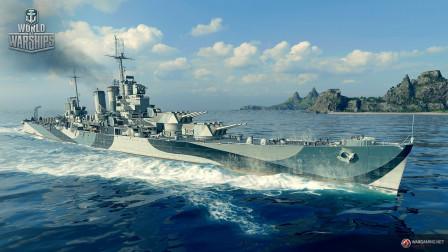 【战舰世界欧战天空】第1411期 得梅因的战场突击