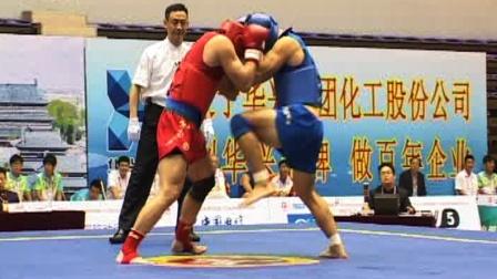 第十二届全运会武术散打比赛 男子 04单元 020 男子