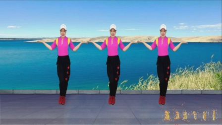 广场舞《转身不必说再会》旋律动听舞优美,简单易学32步