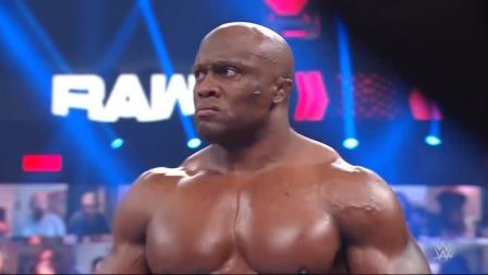 WWE RAW1458期回放:曼迪罗丝阻止女皇赛后补刀, 曼苏尔加入RAW