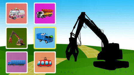 认识双缸液压剪,混凝土泵车,货车等工程车