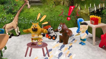 儿童剧:贪吃的熊二吃了好多巧克力,这下牙齿全坏掉了