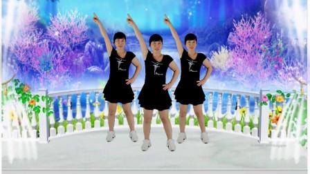 郴州冬菊广场舞【醉倾城】简单大众健身舞