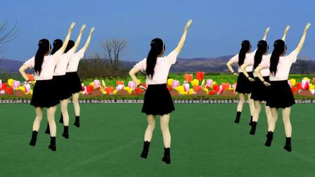 广场舞《我错过了缘分错过了你》歌好听舞好看,简单易学