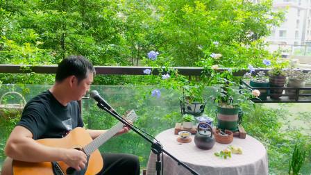 吉他弹唱,张镐哲经典《好男人》好男人不会让心爱女人受伤,感动