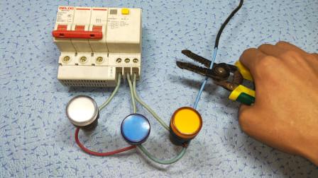 电工知识:380V电源断零线,为什么会烧坏电器?干电工答不上来就尴尬了
