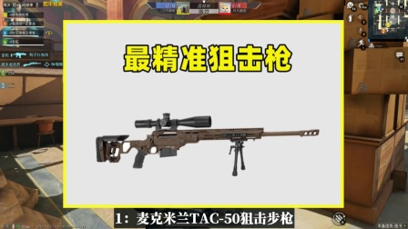 玩家最期待的2把狙击枪,打人是大材小用
