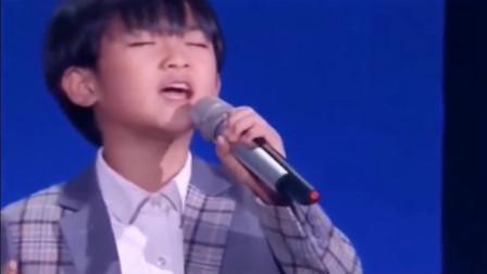 张柏芝儿子小谢仔  深情演唱 一首歌把柏芝和台下的观众都听哭了