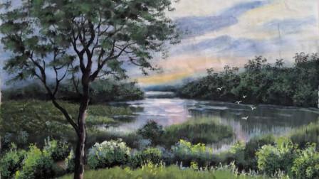 儋州花果园风景画示范