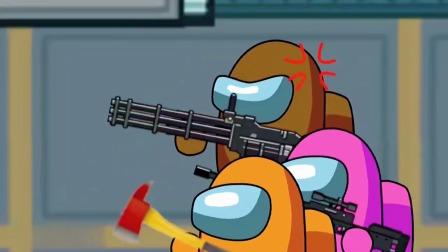 怪物入侵飞船操作室,特种船员发放装备对抗!