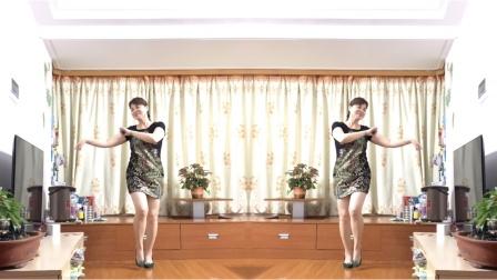 最新原创广场舞「最美的草原最美的花」简单舞步