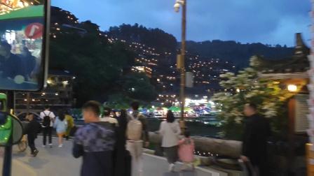 贵州省雷山县西江千户苗寨夜景风光