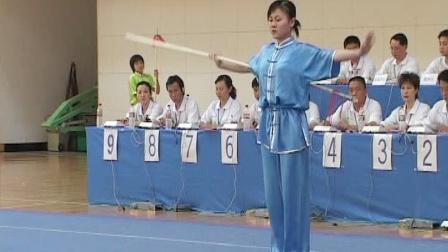 2006年全国青少年武术套路锦标赛 女子枪术 001 王玉静