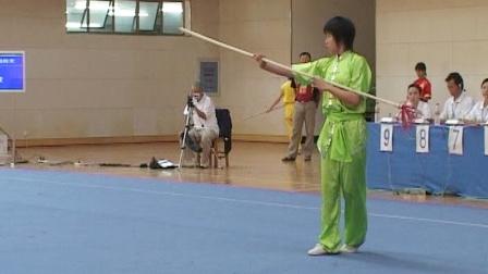 2006年全国青少年武术套路锦标赛 女子枪术 002 唐萱
