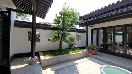 310平中式庭院别墅,感受中式庭院的魅力