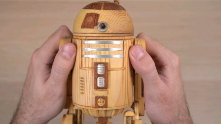 A GENIUS has built a R2-D2 ICO IN THE WORLD