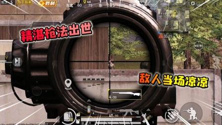 精湛枪法出世,敌人当场凉凉,游戏还能这样玩?