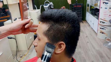 男生发型不爱打理,推荐这一款,硬气很精神,几乎适合所有男士