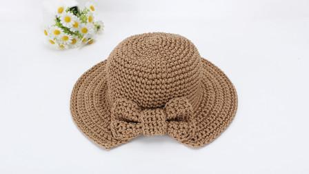 原谅我没让你五一出行的时候戴上这款漂亮的蝴蝶结帽子