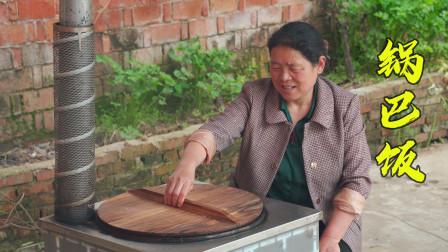 大米不要直接煮着吃了,看看农村妈妈是什么吃法,吃一口满嘴香