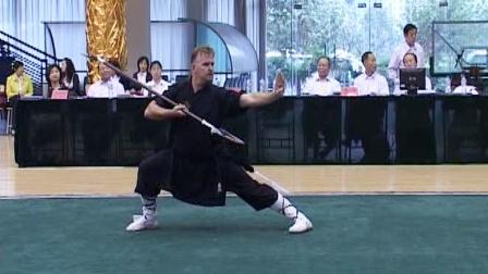 第二届世界传统武术节套路精选 036 男子月牙铲
