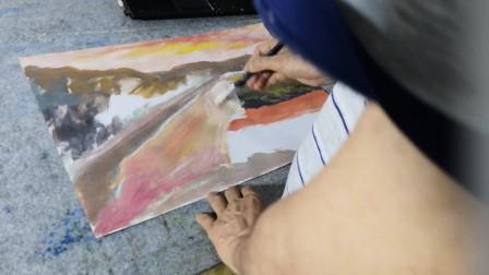 儋州花果山风景画示范5