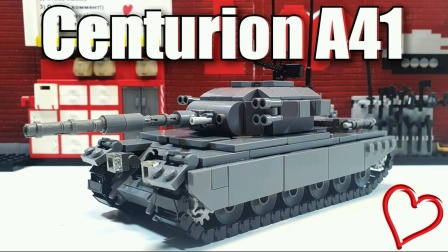 LEGO Tank Centurion A41