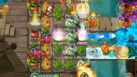 植物大战僵尸:无尽7阶僵尸关卡,选用这套植物阵容,轻松搞定!