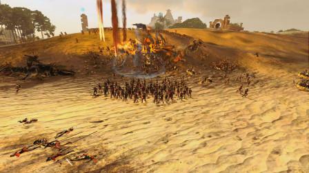 全面战争战锤2294mod 巨龙群岛 新世界殖民地 VS 燃烧潮流