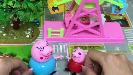 小猪佩奇:僵尸变成了猪爸爸的样子,还好被佩奇识破了