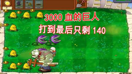 植物大战僵尸349:我是植物摆阵,玉米投手和大嘴花的配合