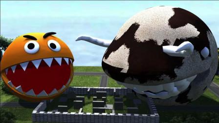 吃豆人:吃豆人vs吃豆牛