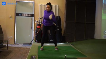 模拟高尔夫、室内高尔夫、高尔夫模拟器、高尔夫教学:如何拥有充分的上杆的身体动作
