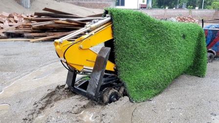 卡车运输工程车挖掘机玩具