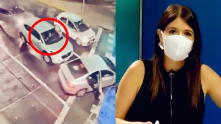 监拍:智利一高级女官员遭埋伏袭击 女保镖毫不犹豫连开12枪!