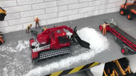 推土机装载机玩具运输细沙